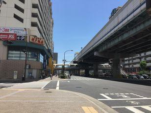 交差点(新長田駅)